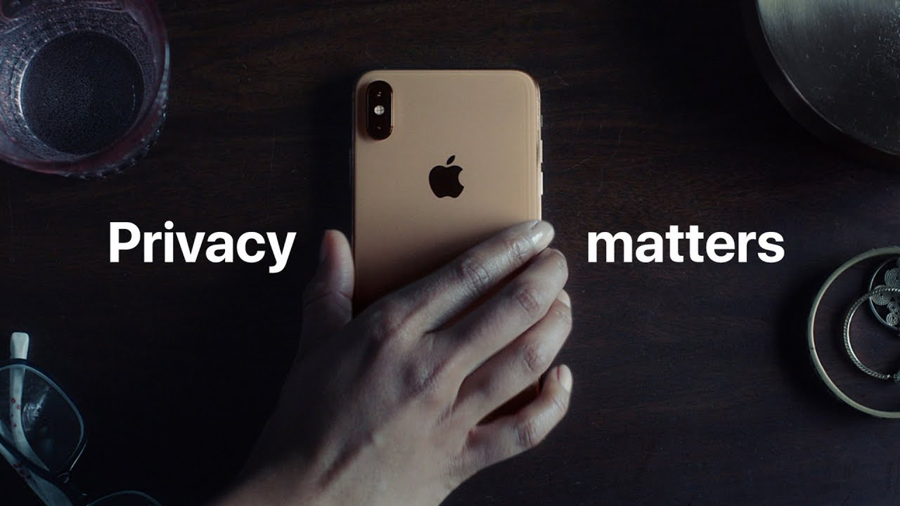 Apple's new ad campaign which prioritises privacy and safety.