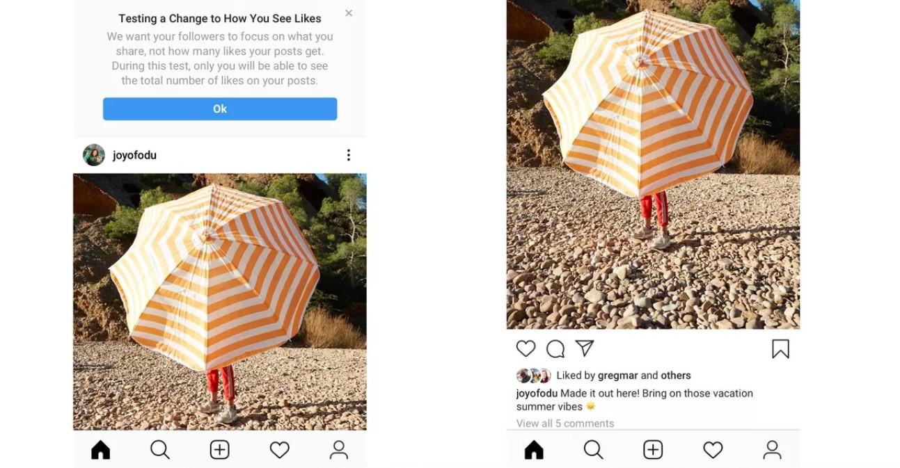 Blog 29 - Instagram hiding likes