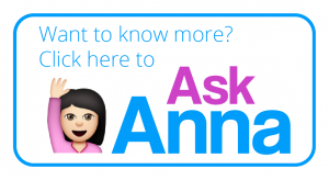 ask Anna button for John Lewis Advert blog