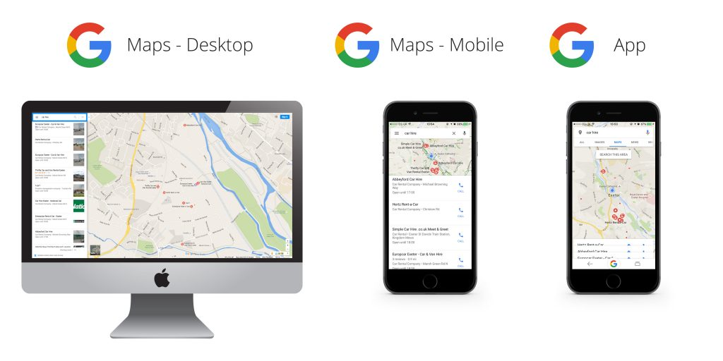 google maps ads banner