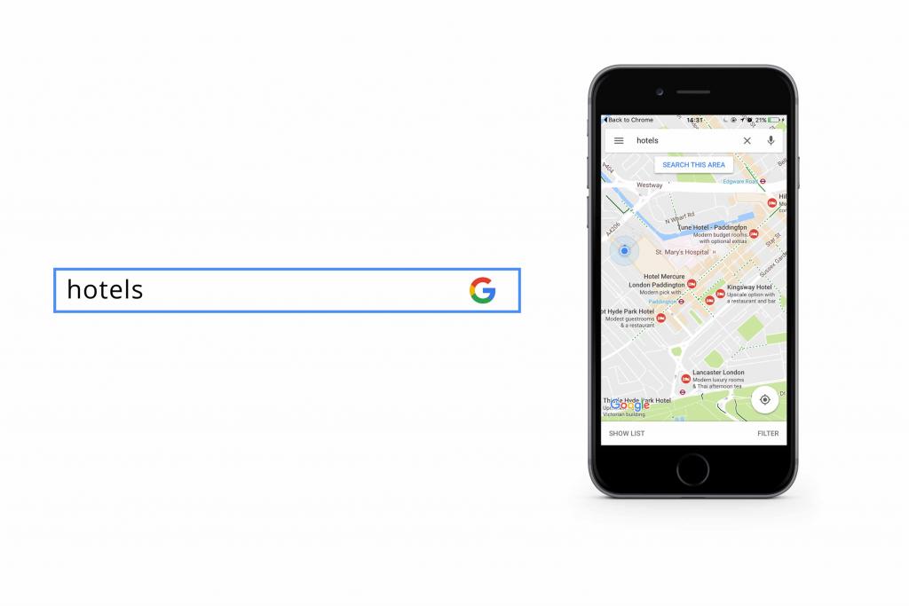 Google mobile search - SEO for Google Local