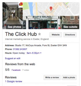 Google my business - SEO for Google Local