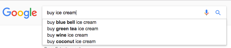 how to find keywords screenshot