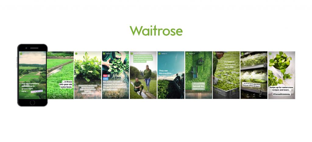 Waitrose's Instagram Advertising Campaign