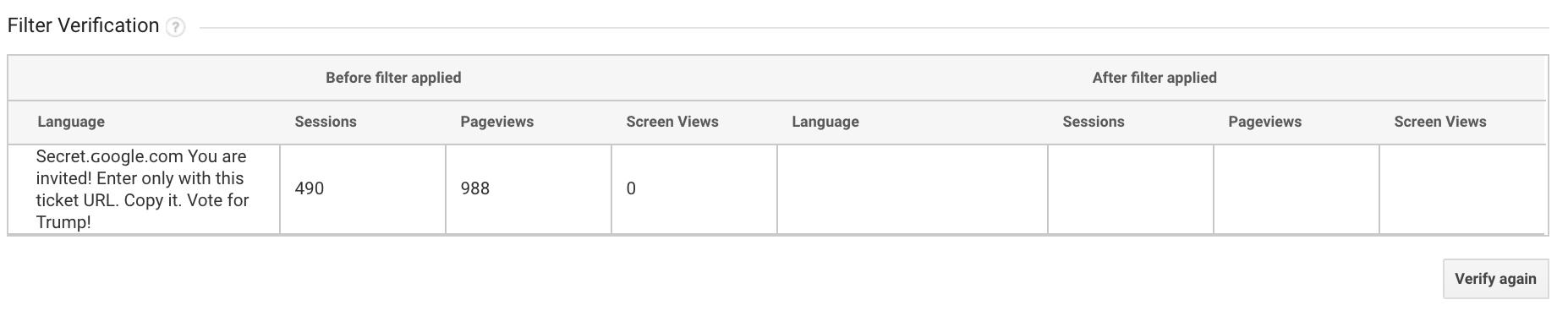 reddit bot traffic - referral spam removal screenshot